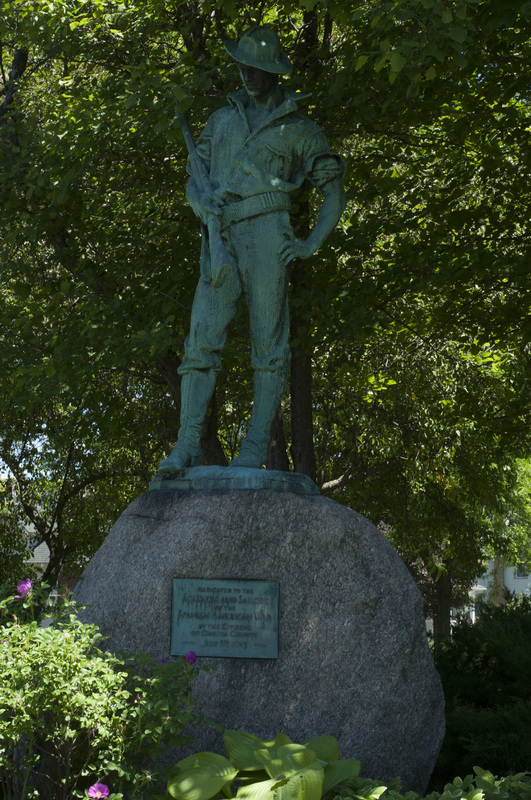 Photograph of The Hiker, Spanish-American War Memorial - AO-00066-005.jpg