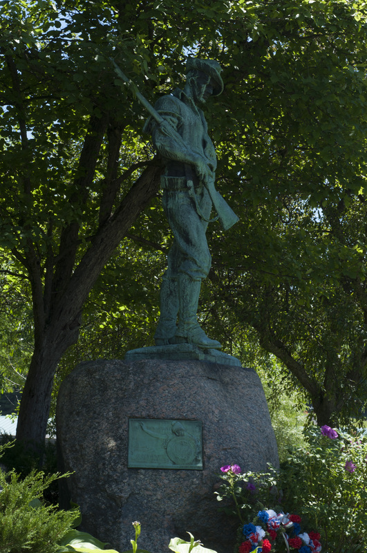 Photograph of The Hiker, Spanish-American War Memorial - AO-00066-006.jpg