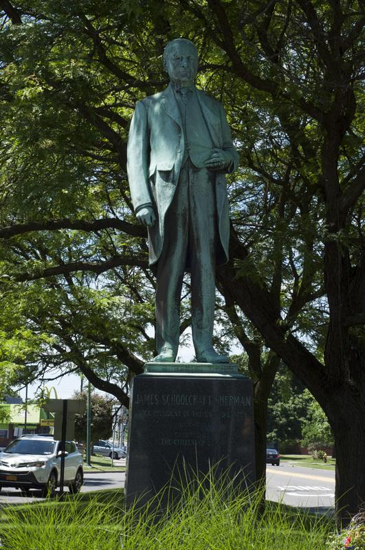 Photograph of James Schoolcraft Sherman Monument - AO-00067-004.jpg