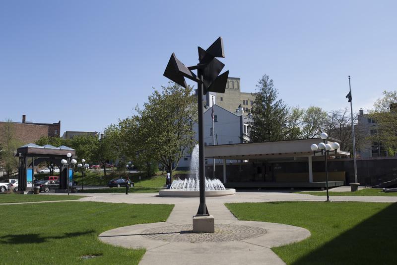 Photograph of Utica City Hall Sculpture - AO-00075-001.jpg