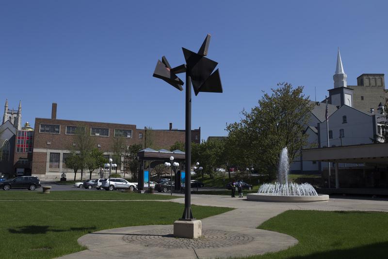 Photograph of Utica City Hall Sculpture - AO-00075-002.jpg