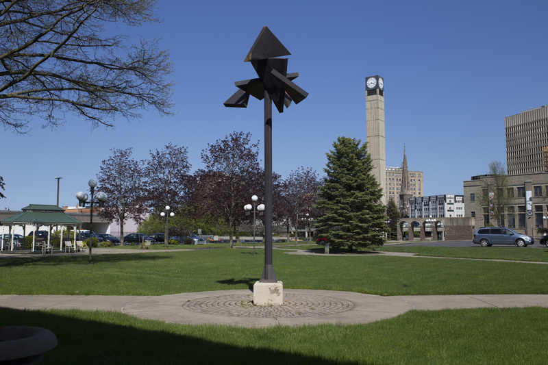 Photograph of Utica City Hall Sculpture - AO-00075-003.jpg