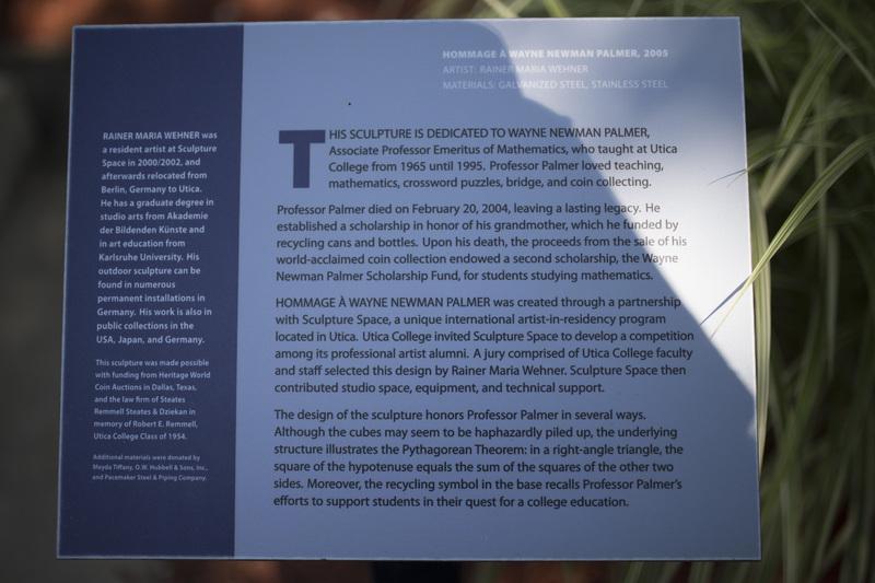 Photograph of Hommage a Wayne Newman Palmer - AO-00076-011.jpg