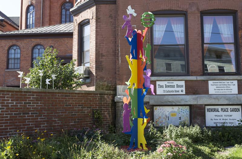Photograph of Peace Garden Totem - AO-00100-009.jpg