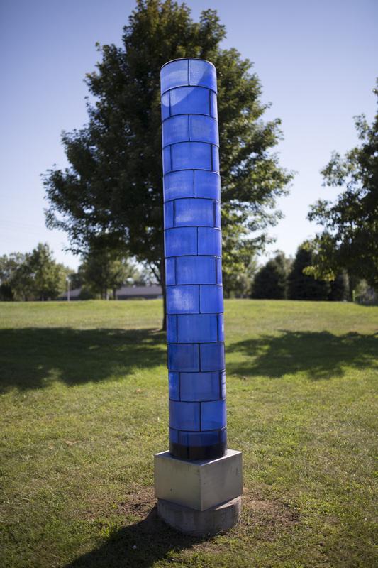 Photograph of Blue Light Column - AO-00163-010.jpg