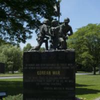 Photograph of World War I/World War II/Korean War Monument - AO-00130-006.jpg