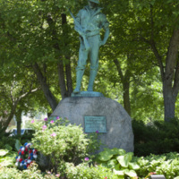 Photograph of The Hiker, Spanish-American War Memorial - AO-00066-003.jpg