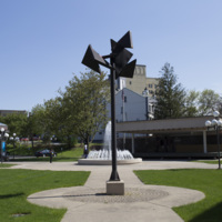 Photograph of Utica City Hall Sculpture - AO-00075-001.jpg