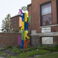 Photograph of Peace Garden Totem - AO-00100-004.jpg