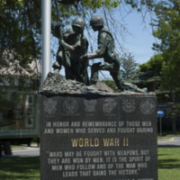 Photograph of World War I/World War II/Korean War Monument - AO-00130-003.jpg