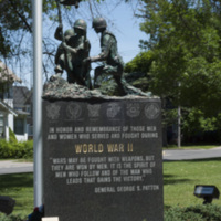 Photograph of World War I/World War II/Korean War Monument - AO-00130-005.jpg