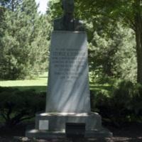 Photograph of George E. Dunham Memorial Statue - AO-00131-001.jpg