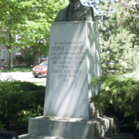 Photograph of George E. Dunham Memorial Statue - AO-00131-004.jpg