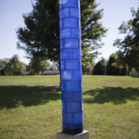 Photograph of Blue Light Column - AO-00163-010.jpg