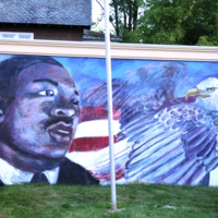 Photograph of Dr King Jr. Memorial Park Mural - dr king.jpg