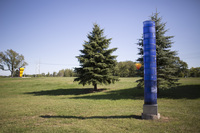 Photograph of Blue Light Column - AO-00163-013.jpg